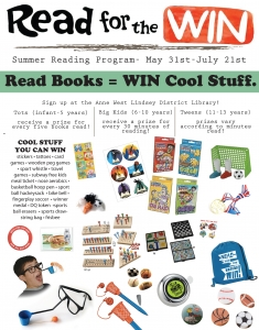 Read for the WIn Prizes