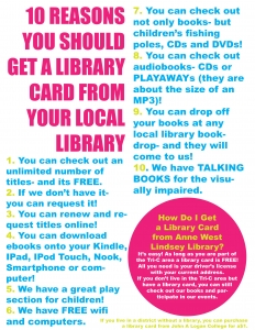 Why You Should Get a Library Card